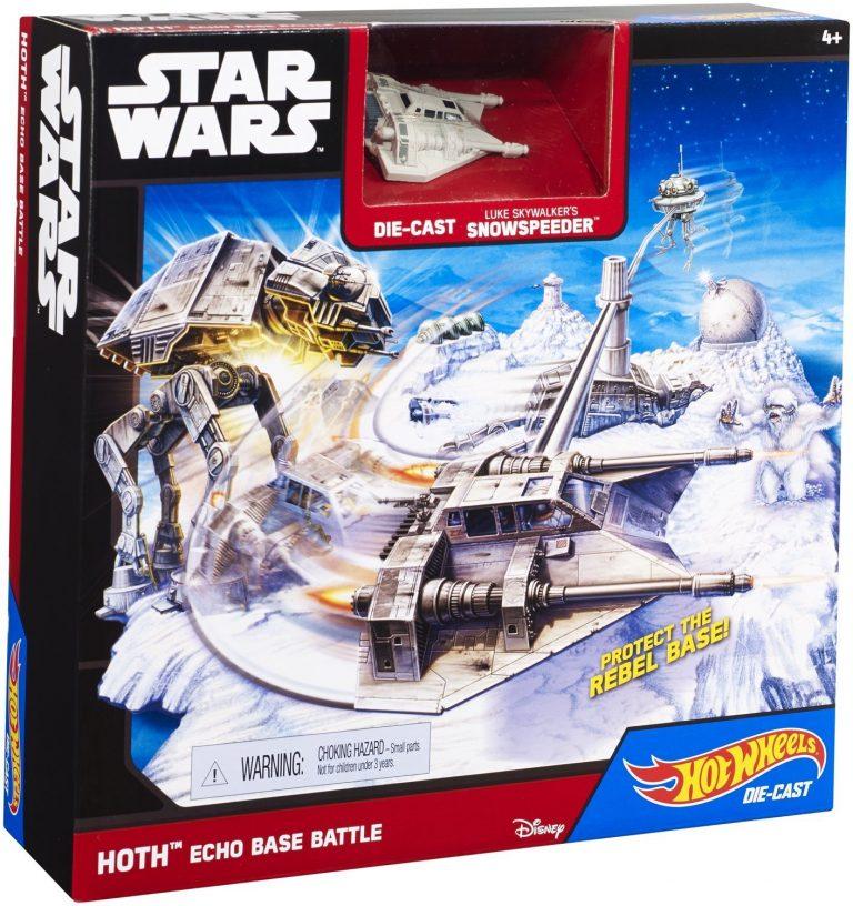 "Игровой набор ""Битва за базу Эхо"" серии ""Star Wars"" Hot Wheels Эхо"