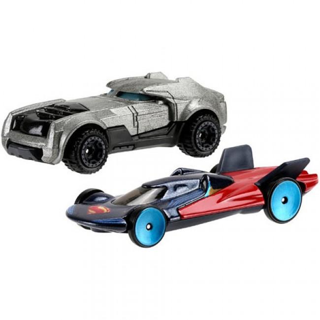 "Набор из 2-х машинок из фильма ""Бэтмен против Супермена""  Hot Wheels"